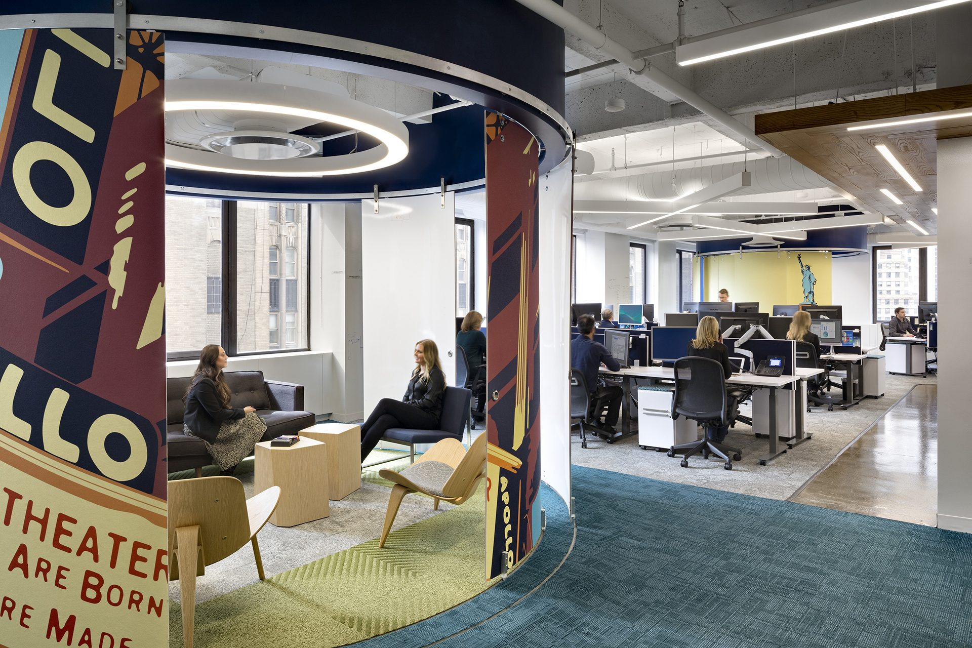 Ignition Space at the new KPMG Ignition, Innovation, and Insights Center
