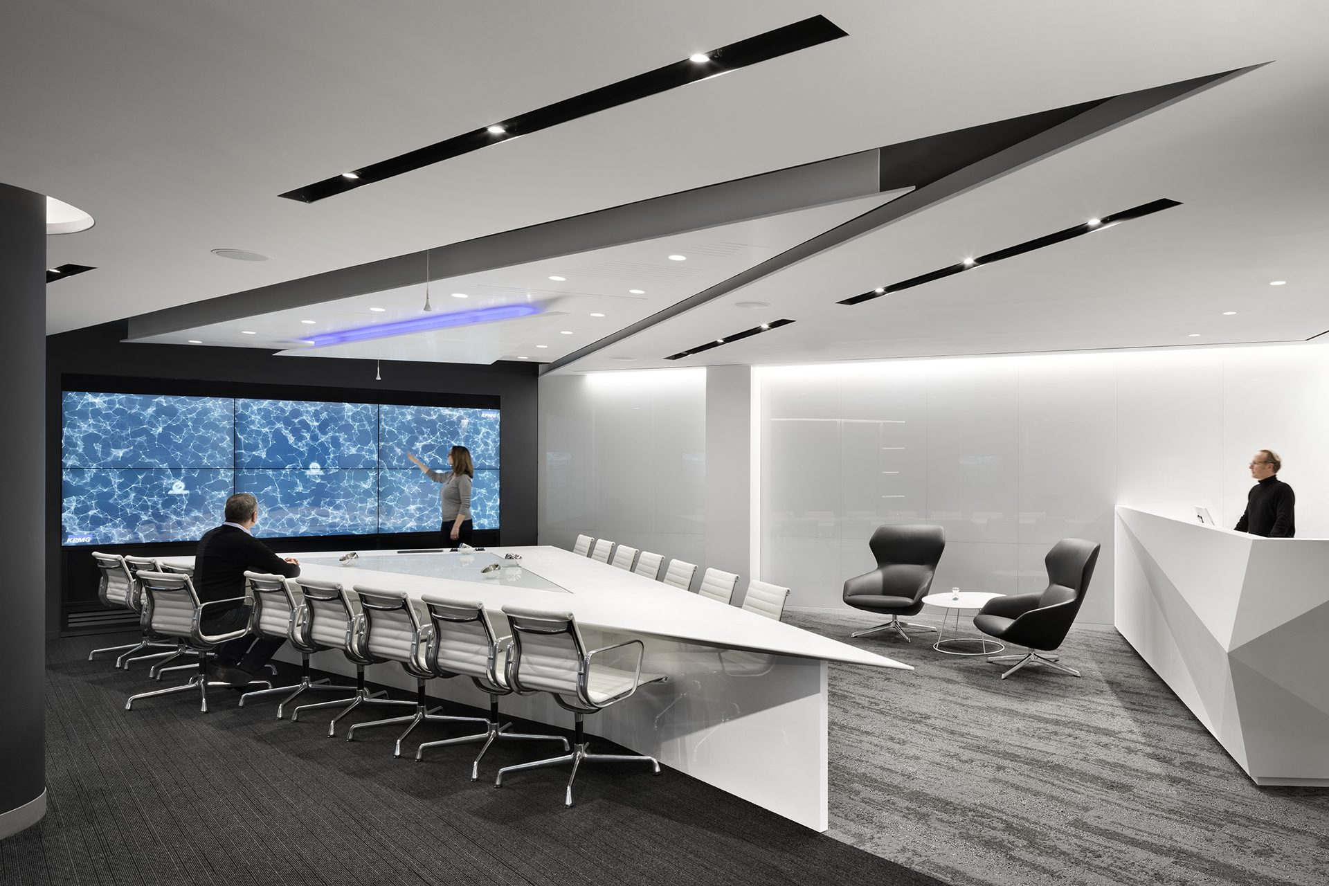 Primary meeting space at the KPMG Ignition, Innovation, and Insights Center