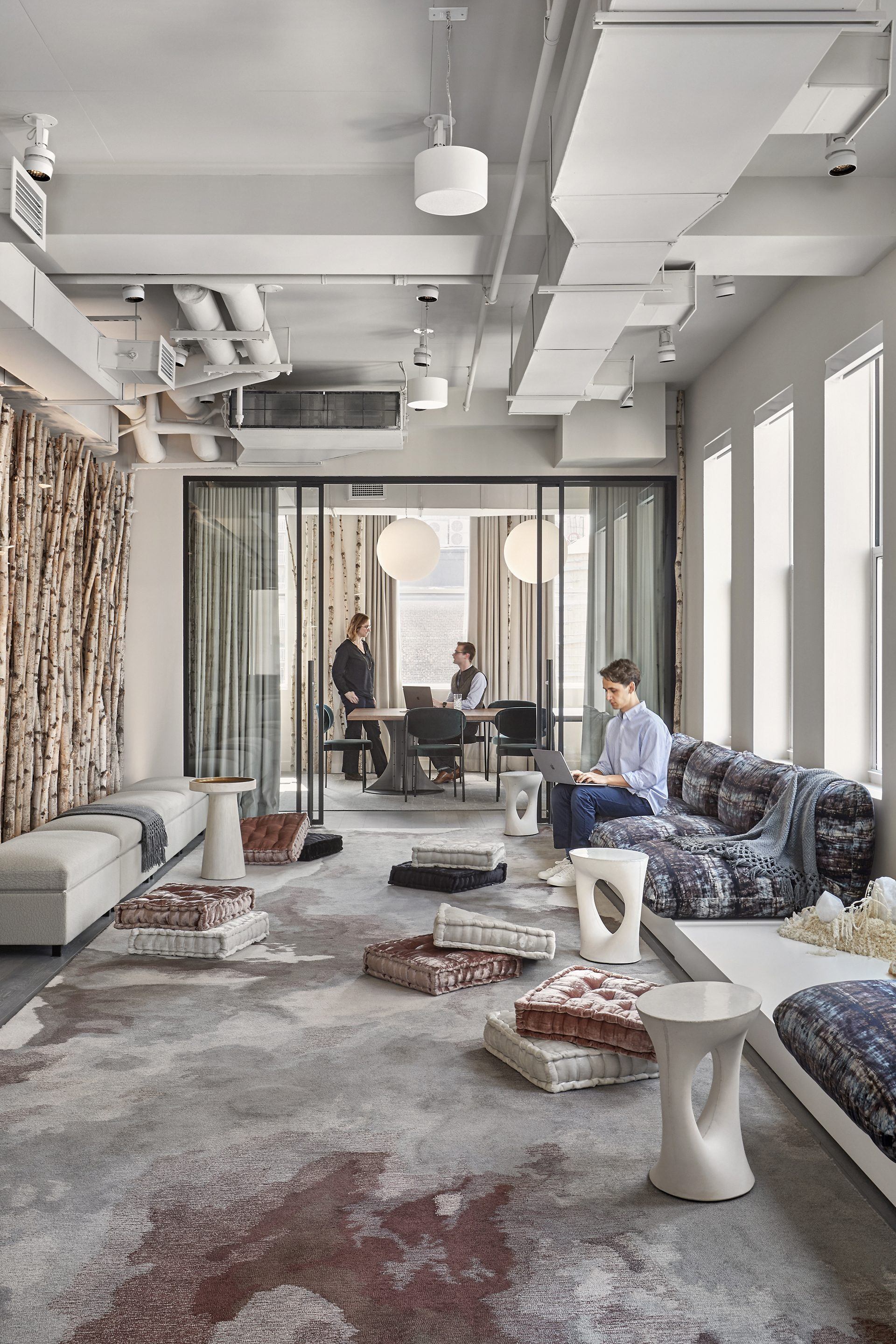 Flexible community space at The Assemblage Park Avenue House