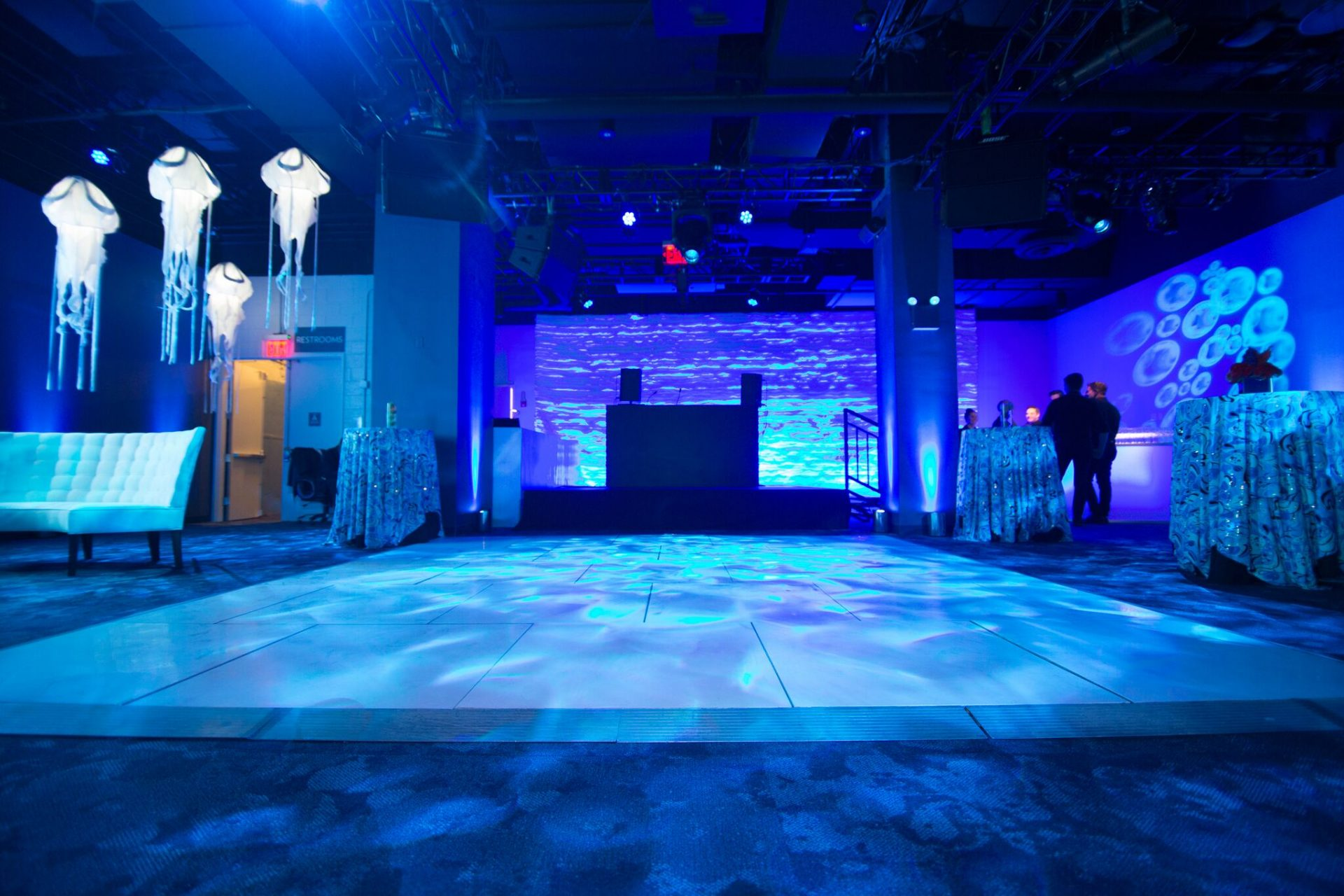 Private events space at National Geographic Encounter: Ocean Odyssey