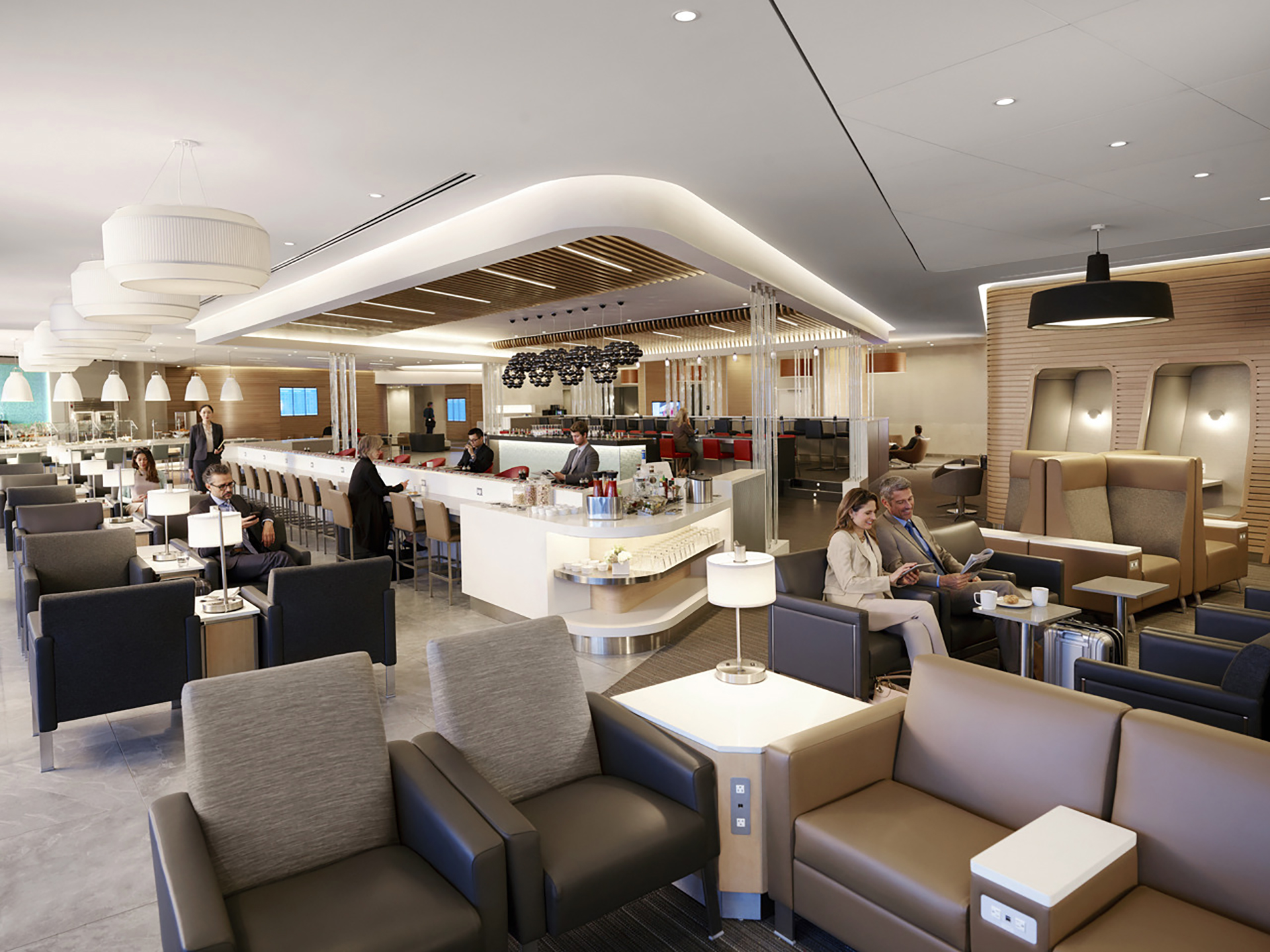 American Airlines Flagship Lounge at JFK Airport