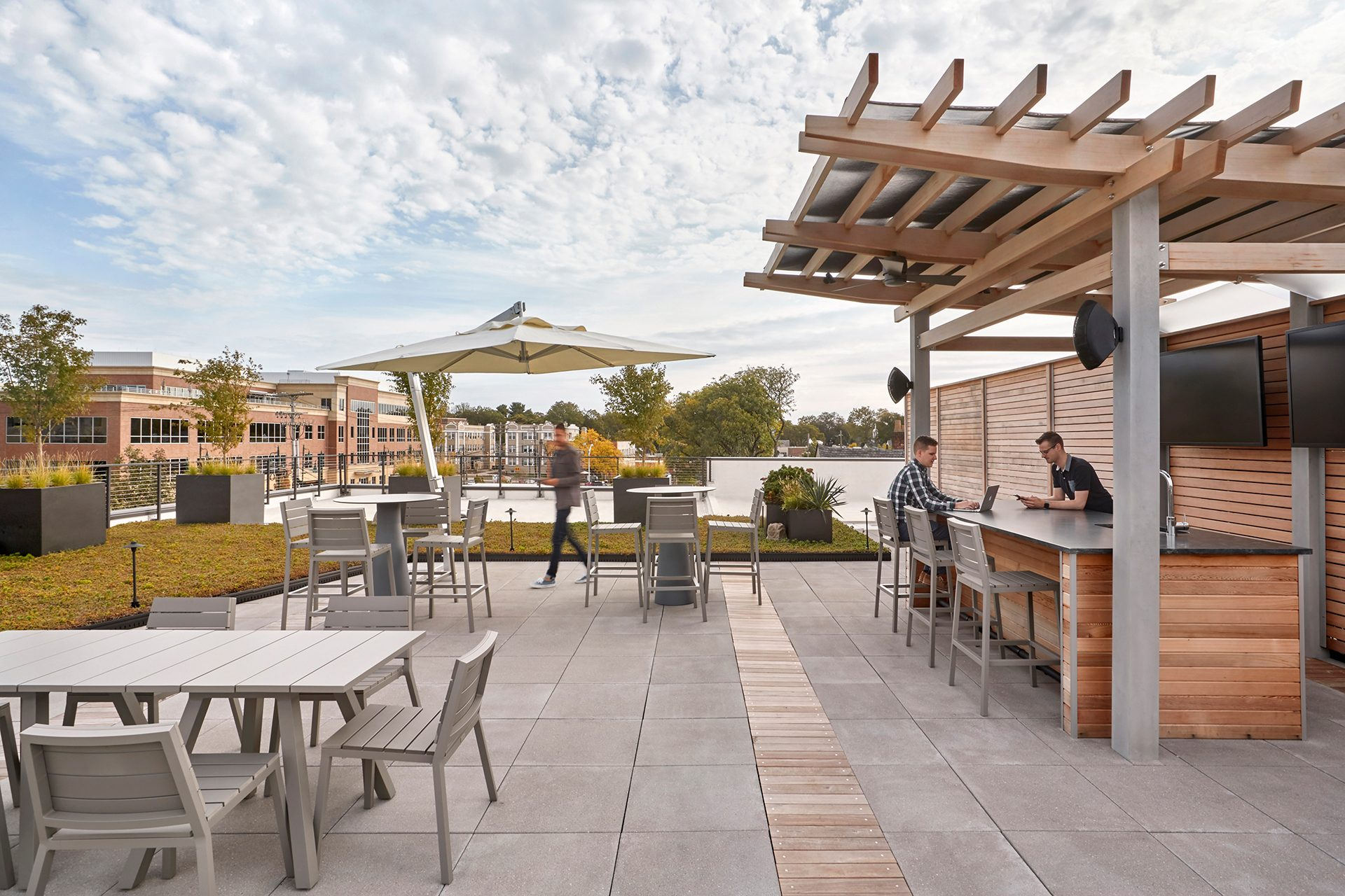 Energy Capital Partners (ECP) roof terrace