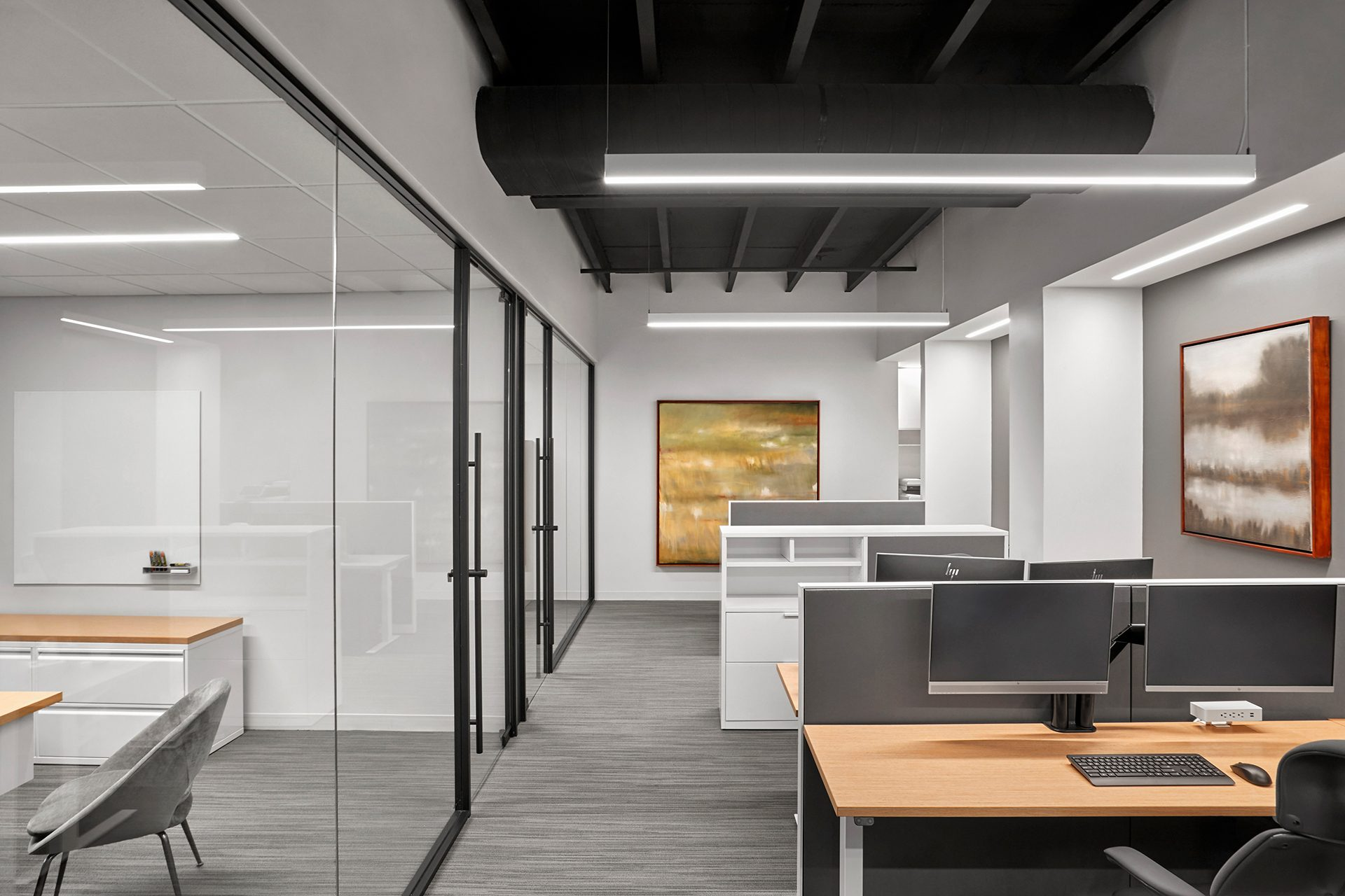 Energy Capital Partners (ECP) open workspace and private offices