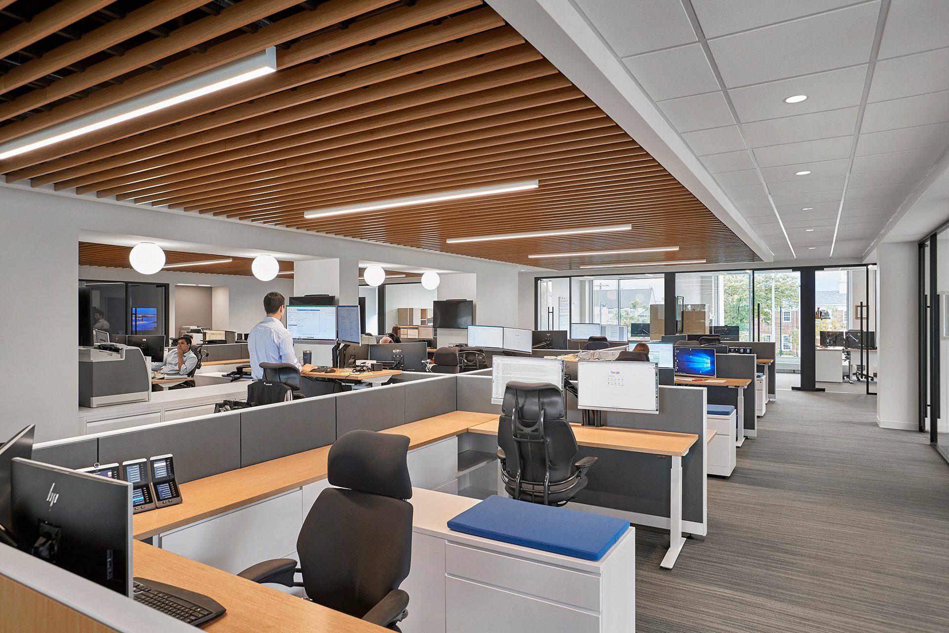 Energy Capital Partners (ECP) open workspace