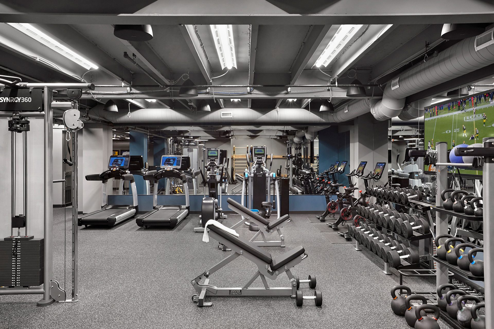 Energy Capital Partners (ECP) onsite gym