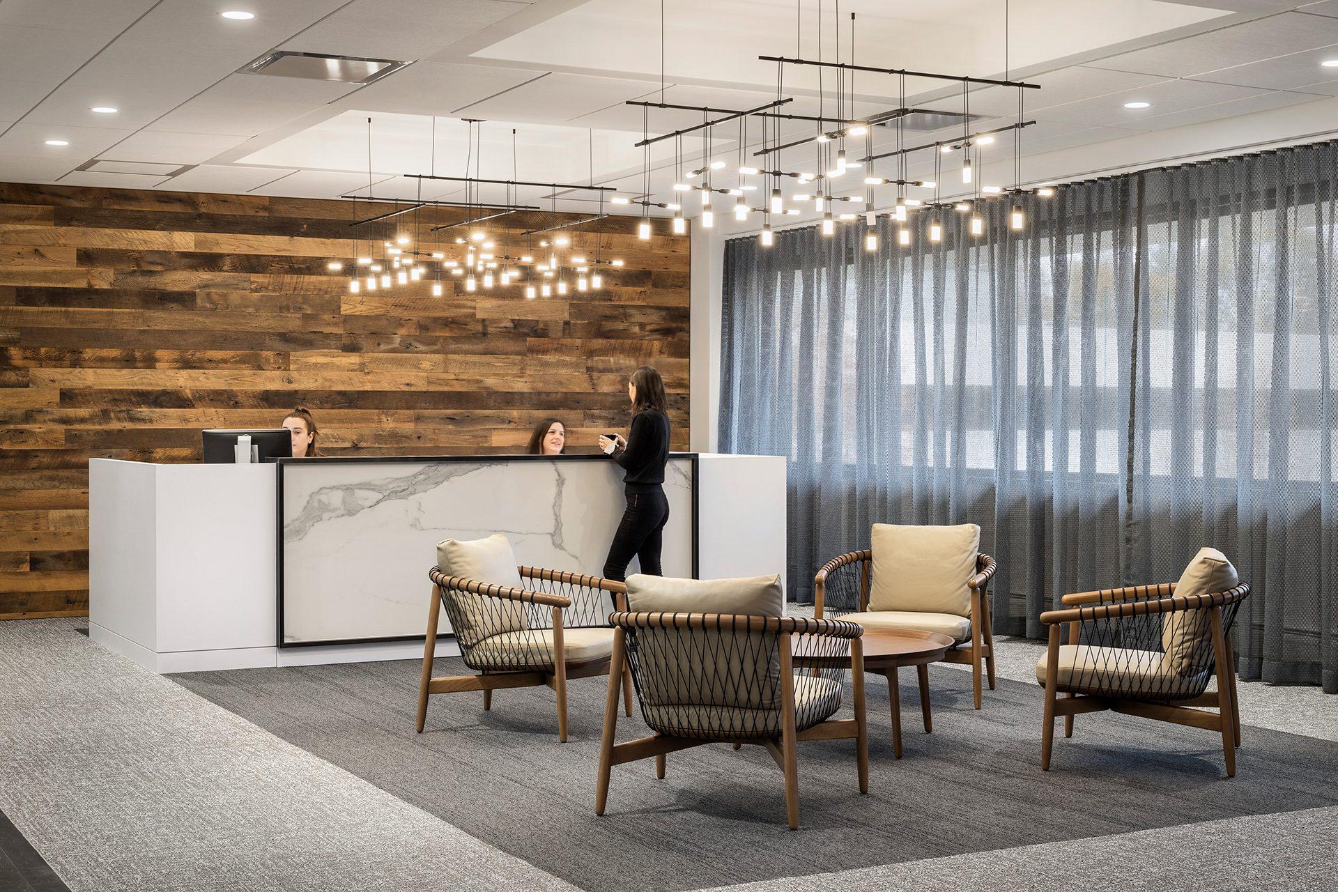 RegentAtlantic workplace design reception