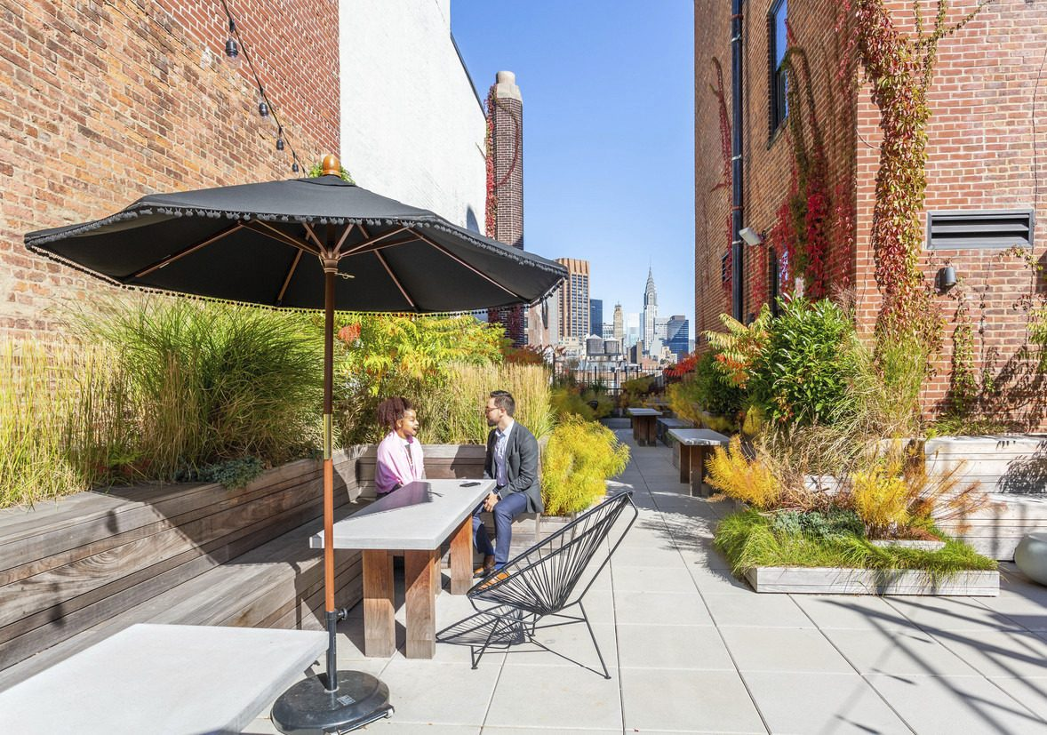 New rooftop terrace at 114 East 25th Street