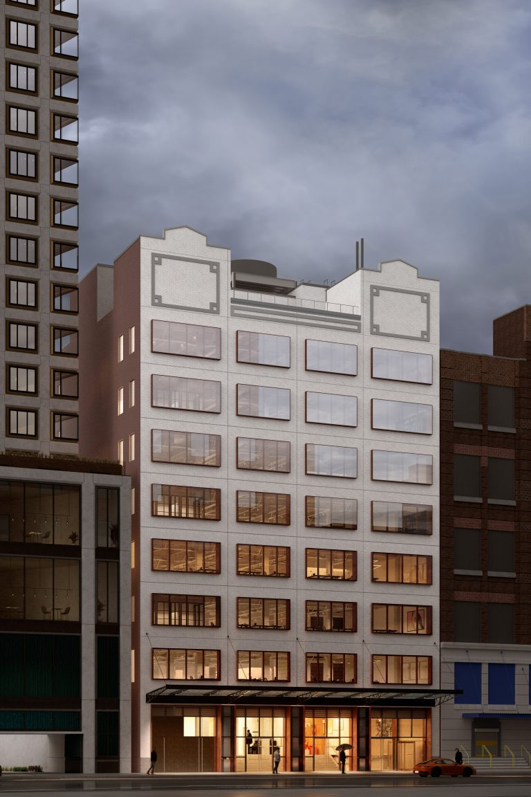 Hero rendering of 541 West 21st Street Building Repositioning
