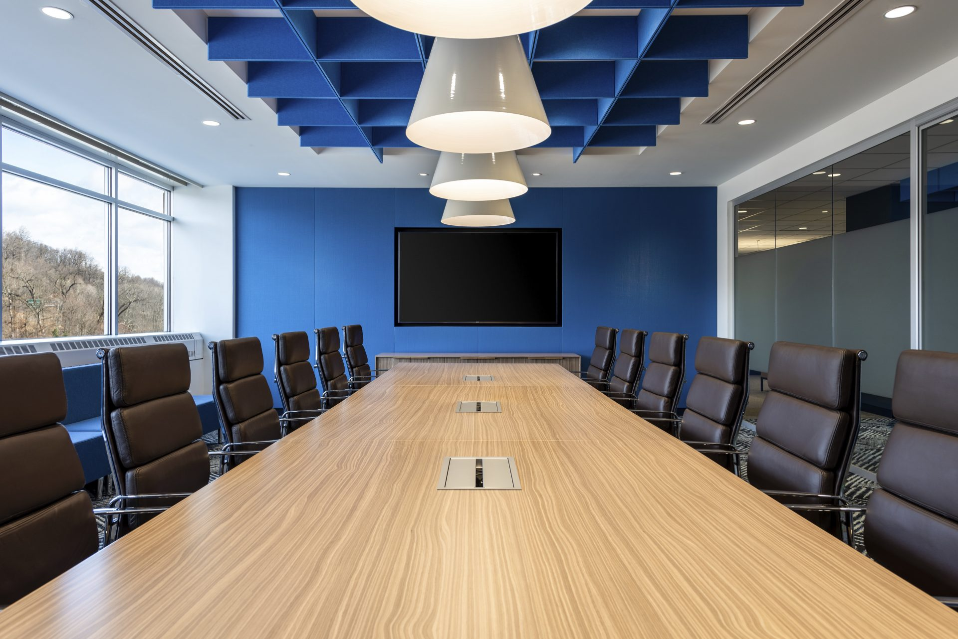 Board room at the new Hayward Industries Headquarters