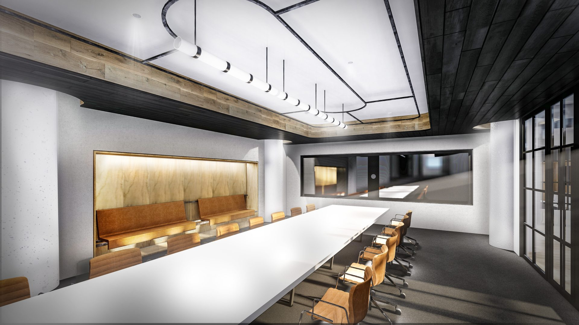 Board room for this Global Consumer Products company's new office