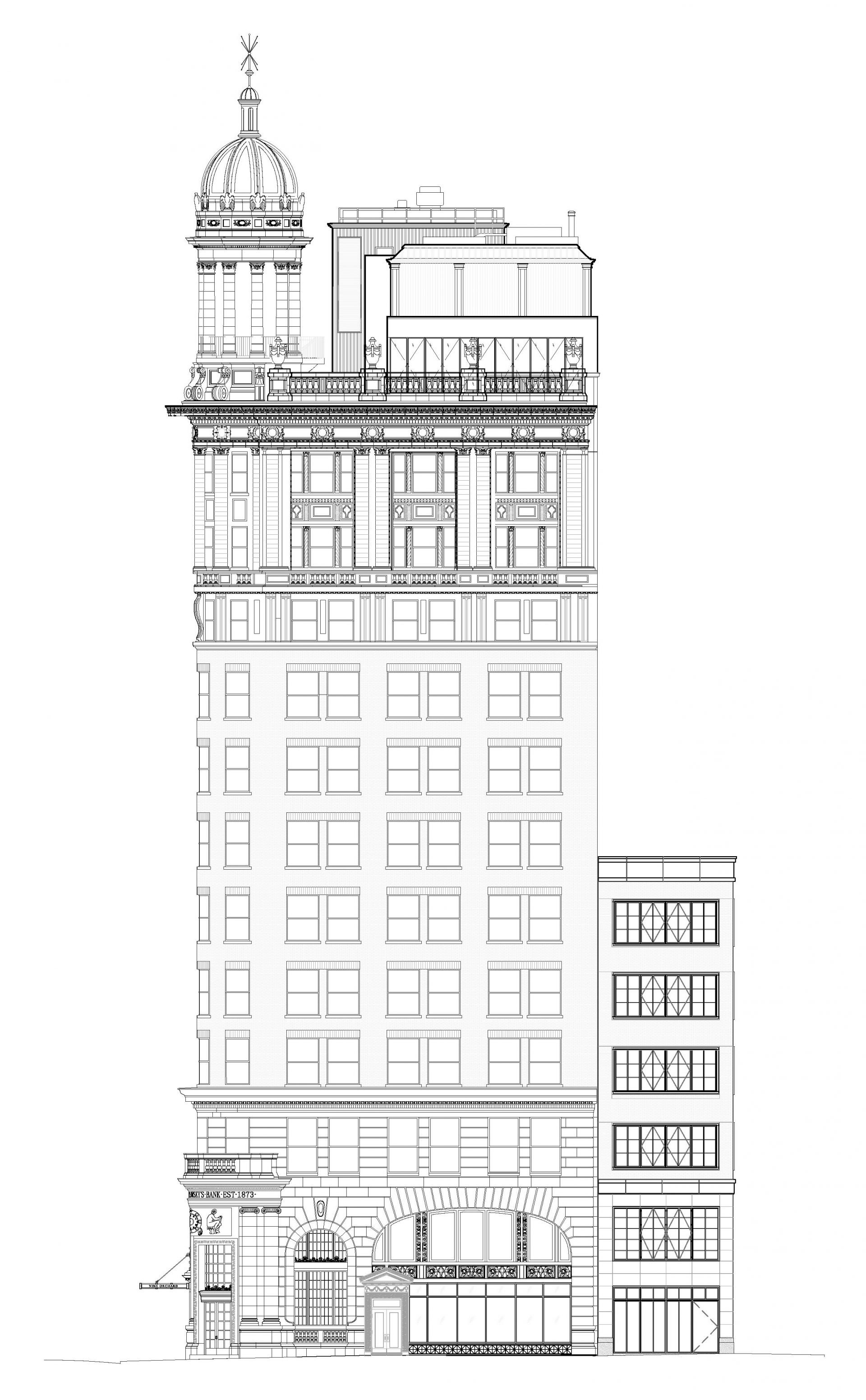Elevation of 9 Orchard Street