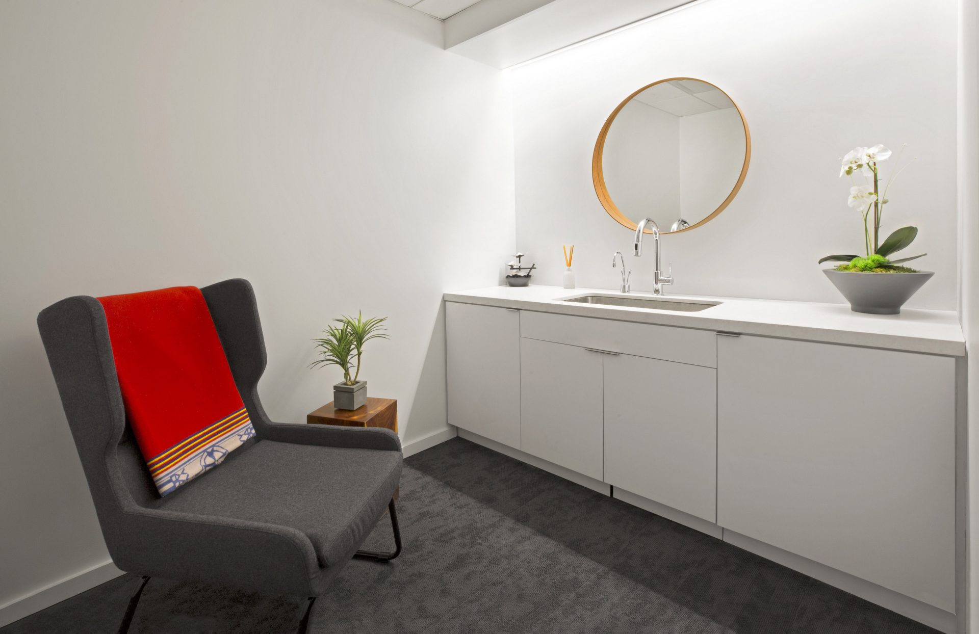 Wellness room at the new CNY Group Headquarters