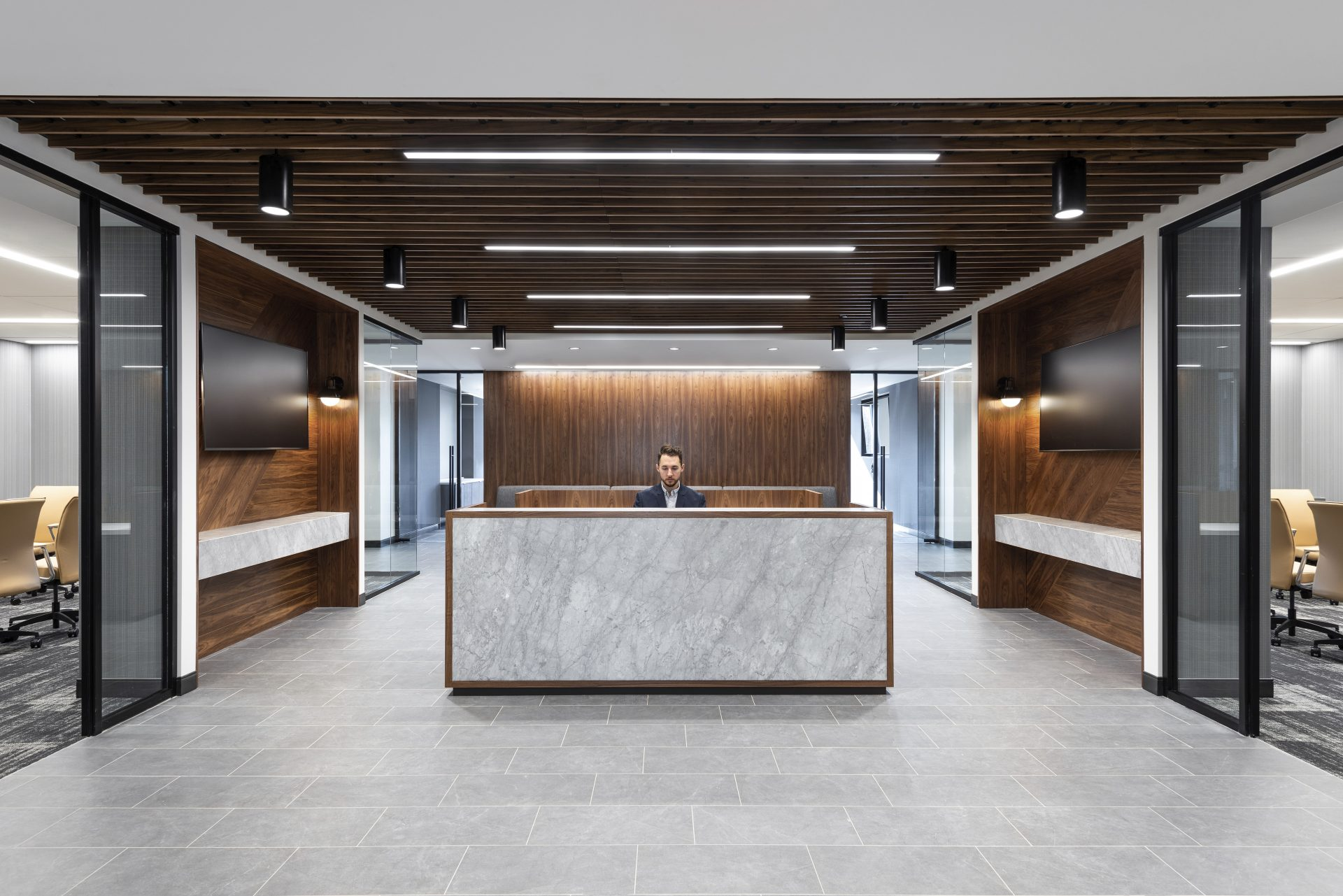 Reception at the new Sax LLP Headquarters