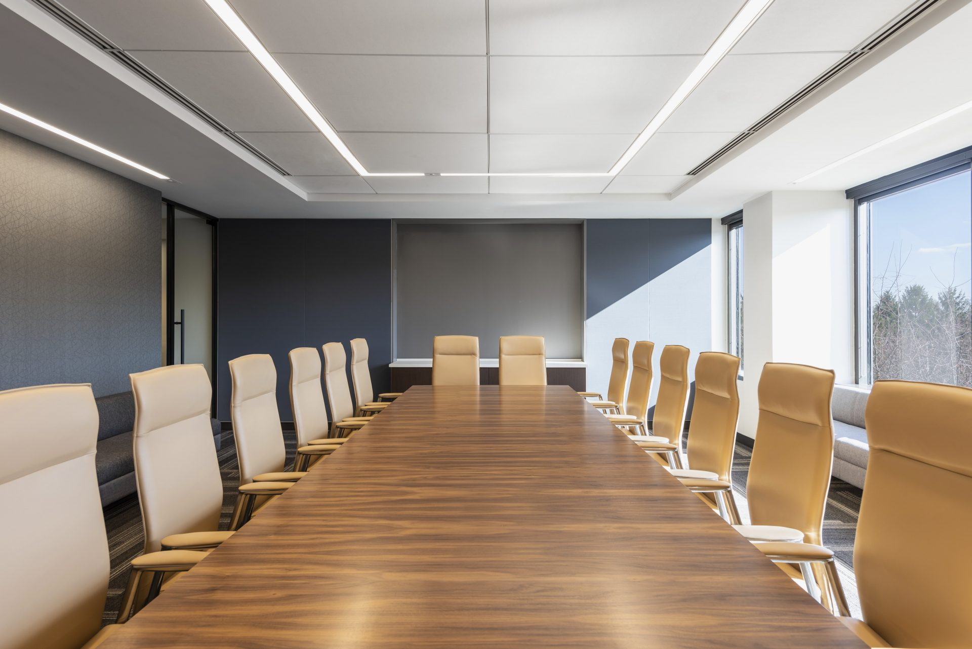 Board room at the new Sax LLP Headquarters