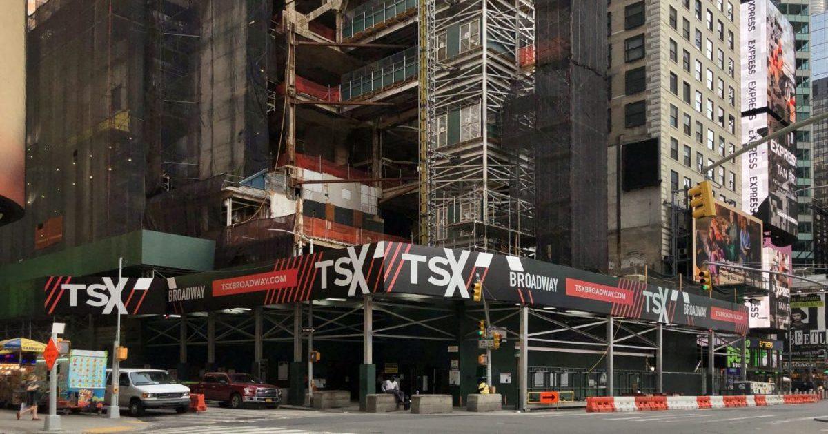 TSX Broadway Demolition